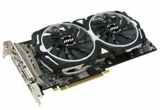 MSI Radeon RX 580 DirectX 12 RX 580 ARMOR 8G OC 8GB 256-Bit GDDR5 PCI Video Card