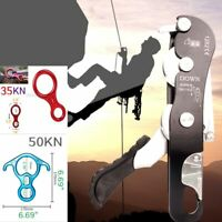 Perfeclan Hand Grasp Rock Climbing Ascender Riser Device for 8-13mm Rope Lot New