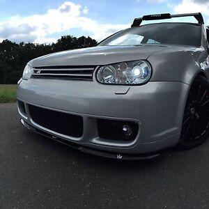 Diffusor Frontlippe für VW Golf 4 R32 IV Cupra ABS Frontspoiler Lippe Matt