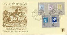Envelop Dag van de Postzegel 1976 met nrs. 1098 t/m 1102