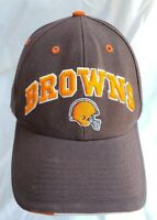 Vintage Cleveland Browns Hat Twins Enterprise size 7 1/8 Spell out NFL Football
