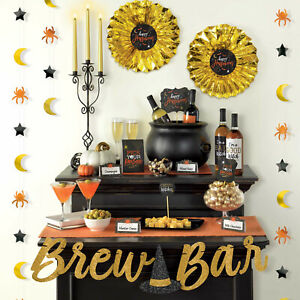 Wicked Brew Bar Party Decorating Kit