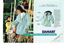 PUBLICITE ADVERTISING 126  1993   Damart Thermolactyl (2p)   parka