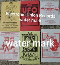 Cheap Trick, Ac/Dc, Reo Speedwagon, Ufo, Ted Nugent and others Handbill lot