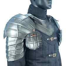 Steel Dark Drake Pauldrons, Shoulder Armor, LARP, Medieval, Theater, COSPLAY