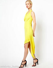 Viscose Asymmetrical Hem Dry-clean Only Dresses for Women
