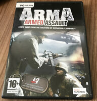 ArmA: Armed Assault PC DVD (2007) Game Plays on XP Amazing Value