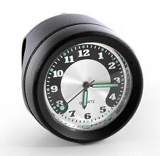 Motorrad Lenkeruhr Metall schwarz Big Uhr großes Ziffernblatt für Harley Suzuki