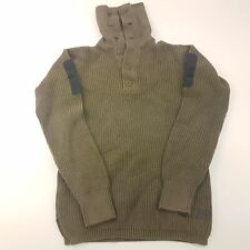 G-Star Raw Mens  Jumper SMALL  Green Cotton Pullover Sweater Knit High Neck