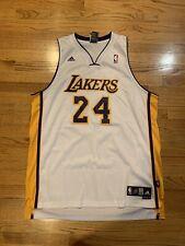 Adidas LOS ANGELES LAKERS NBA Basketball KOBE BRYANT Jersey 2XL swingman