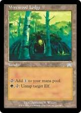 WIREWOOD LODGE Onslaught MTG Land Elf Unc