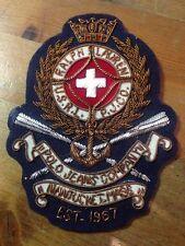 RALPH LAUREN GOLD WIRED MILITARY ARMY STYLE BADGE NEW BLAZER BADGE LAUREN NEW