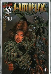 WITCHBLADE #10 KEY 1st Appearance DARKNESS (1995) Top Cow VF+ (8.5)