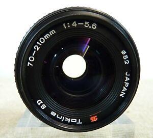 Tokina SD 70-210mm f/4-5.6 Macro Zoom Lens Ø52 for Minolta - Thames Hospice