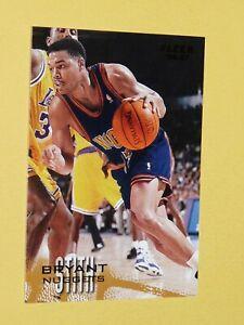 #29 BRIANT STITH DENVER NUGGETS 1996-1997 NBA BASKETBALL FLEER CARD USA