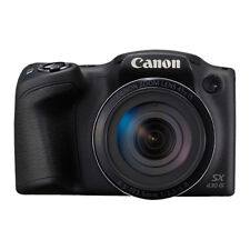 Canon PowerShot SX430 IS 20MP Digital Camera 45x Optical Zoom Black Wi-Fi / NFC