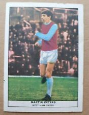 MARTIN PETERS West Ham United   Anglo Confectionery  Football quiz series No 43