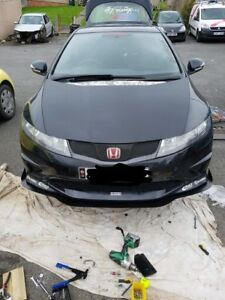 STUKE HONDA CIVIC FN2 TYPE R FRONT SPLITTER LIP