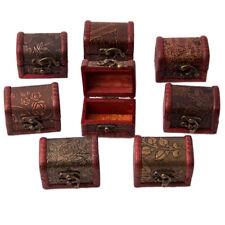 Bois Boîte Bijoux Coffret Écrin Présentoir Collier Trésor Montre Bracelet Cadeau