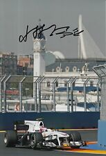 Kamui Kobayashi Hand Signed 12x8 Photo Sauber F1 Japanese Autograph Rare.