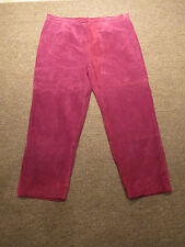 Vintage-80s-Terry Lewis Suede Trousers 20P-#V1