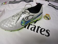 Cristiano Ronaldo (Real Madrid) signed white Nike Football Boot (left) + COA