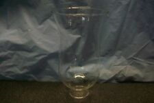 """6-1/2"""" CLEAR GLASS HURRICANE CHIMNEY GLOBE SHADE FLARED MOUTH CANDLE LIGHT LAMP"""