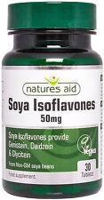Isoflavonas de soja 50mg X 30 Comprimidos (genisteína, diadzeína & Gliciteína) - naturesaid
