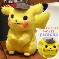 Pikachu Detective Movie Japan Anime Game Comic Doll Soft Plush Gift Toys