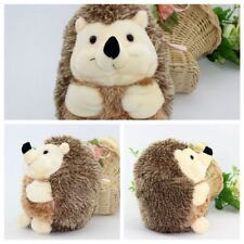Sweet brown Soft Hedgehog Animal Doll Stuffed Plush toys Kids Home Party Gift