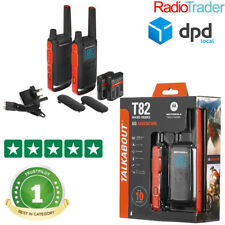Motorola Talkabout T82 Twin Pack Walkie Talkie PMR446 Two Way Radio