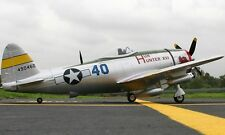 Dynam P-47D 48'' Brushless PNP RC Scale Airplane RETRACTS SERVO MOTOR ESC A-RTF