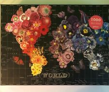 Galison 1000 Piece Puzzle -- Full Bloom -- Box unsealed, pieces sealed in bag