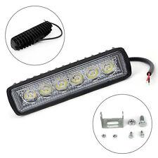 18W LED Daytime Running Spot Light Work Light Fog Off-Road SUV 4WD Car Truck New