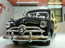 Ford Woody Wagon 1949 Black Diecast Model Car 73260 Motormax 1/24