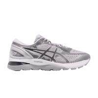 Asics Gel Nimbus 21 Grey Silver Men Running Training Shoes Sneaker 1011A169-020