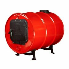 Wood Stove Barrel Kit for 30-55 Gallon Drums BSK1000 Cast Iron Outdoor US NEW