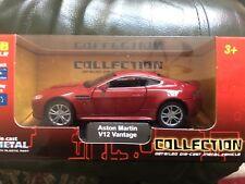 Aston Martin V12 Vantage    Red die cast  model car