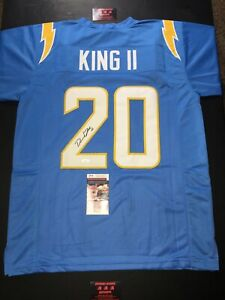 Desmond King Chargers Autographed XL Jersey Football JSA Certified