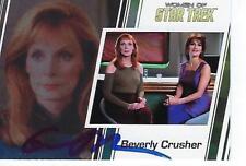 GATES McFADDEN SIGNED 2017 WOMEN OF STAR TREK #33 - DR. CRUSHER - CONVENTION SIG