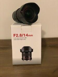 Samyang 14mm 2.8 Sony e mount FE