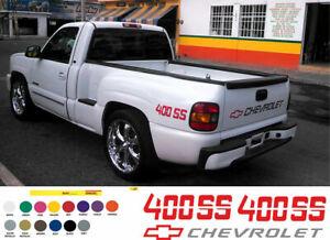Sticker for CHEVROLET Chevy 400 SS Truck 1500 2500 Pickup V8 Silverado 3.5