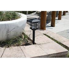 Outdoor Garden LED Solar Power Pathway Light Landscape Lamp Post Lawn