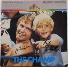Jon Voight/Ricky Schroder Signed The Champ Autographed Album Cover PSADNA#Z85991
