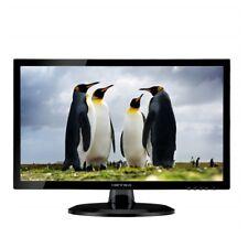 LED-Monitor HannsG  24 Zoll 1920x1080 FullHD 16:9 VGA DVI Schwarz Lautsprecher