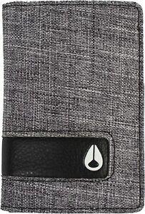Nixon Men's Showcard Credit Card Slot Bi-Fold Wallet - Grey/Black