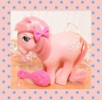 ❤️My Little Pony MLP G1 VTG 1982 Cotton Candy Collector Pose Pony Flat Foot FF❤️