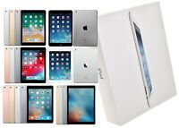 Apple iPad Bundle | 5/6/Airs/Pros | Silver/Gold/SpaceGray | WiFi Only | Open Box