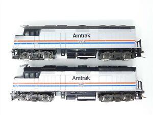 HO Scale LOT of 2 Atlas AMTK Amtrak F40PH Diesel Locomotive #350