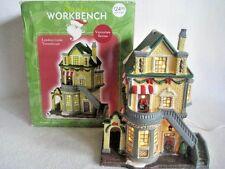 Santa's Workbench Victorian Series London Links Townehouse Christmas Village